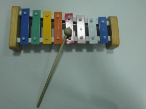 Xylophone used by Ah-Counter in Toastmaster Speaking Elephants club